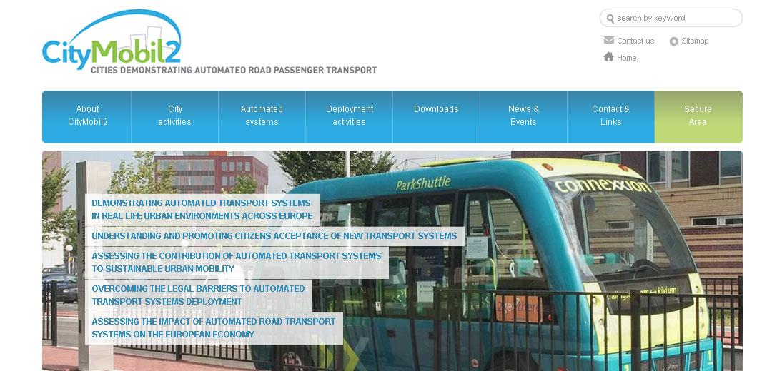 CityMobil2 Launches New Website