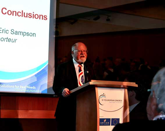 Eric Sampson shares his thougths on the 9th European Congress
