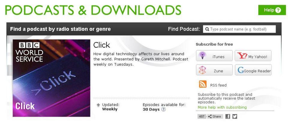 New BBC Podcasts explore ITS