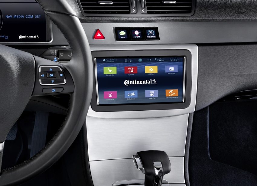 From 360° Surround view to lifestyle Apps: Networked infotainment from Continental