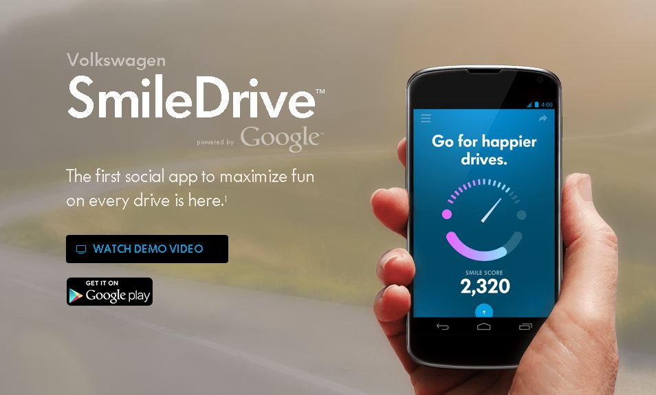 Mobile Monday: Volkswagen SmileDrive app transforms your road trip into a game