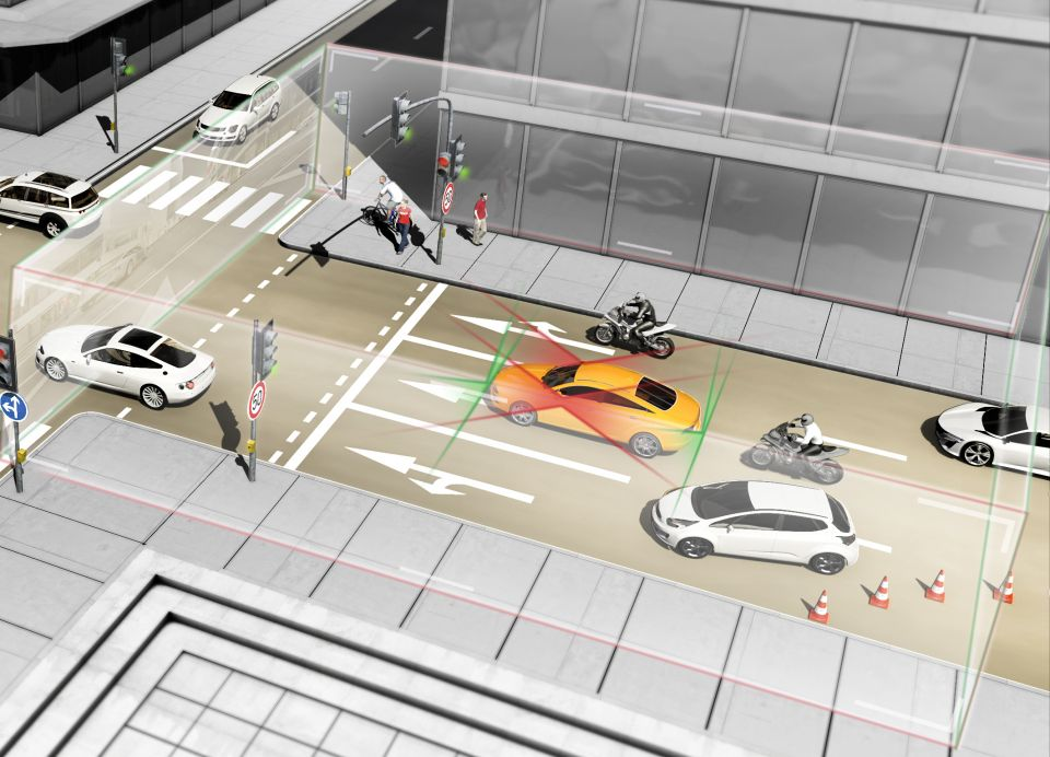 Continental Monitors Full Vehicle Surroundings