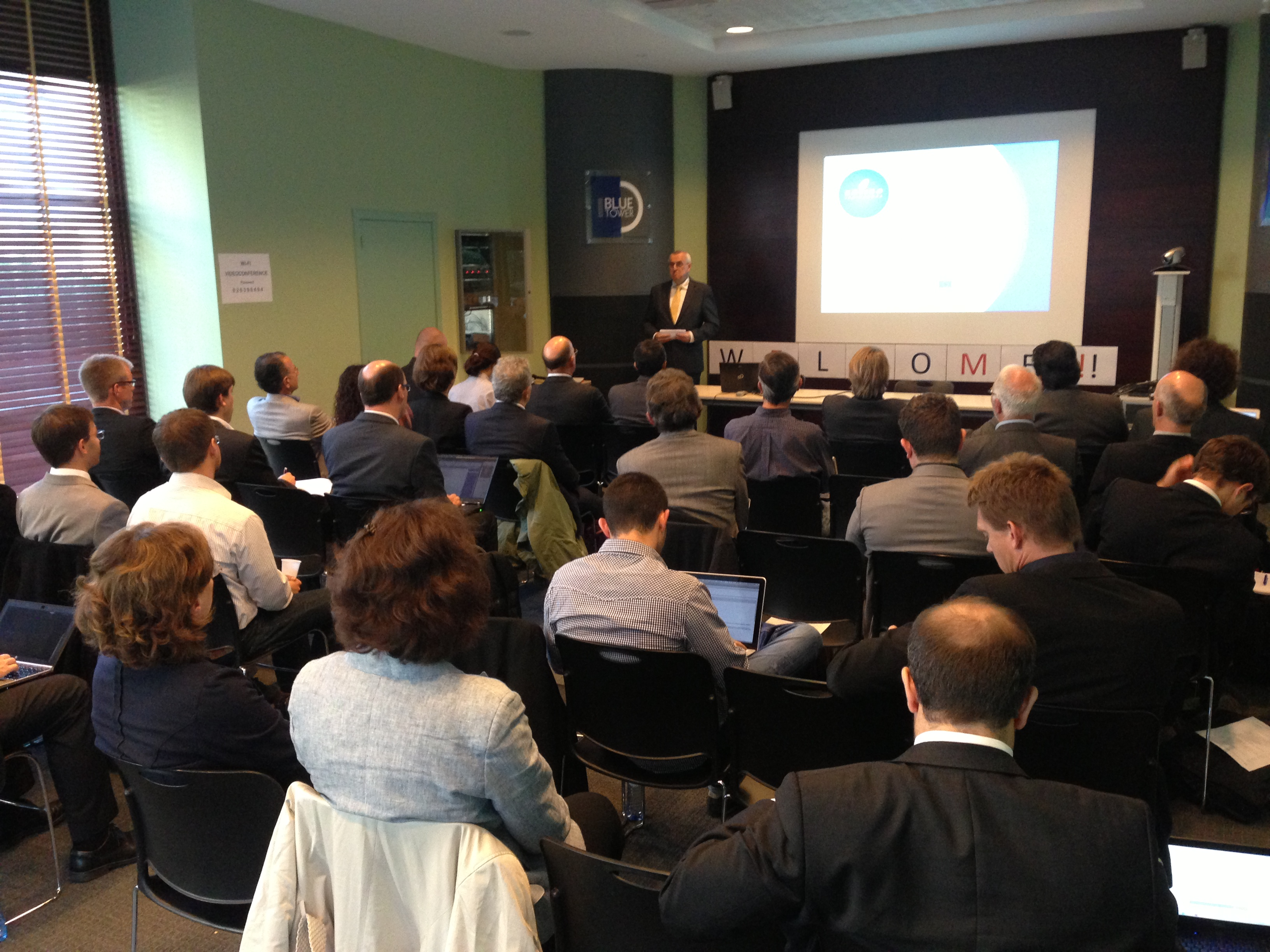 EC Head of Sector Wolfgang Hoefs opens VRA Concertation Workshop, Brussels, 1 October 2013