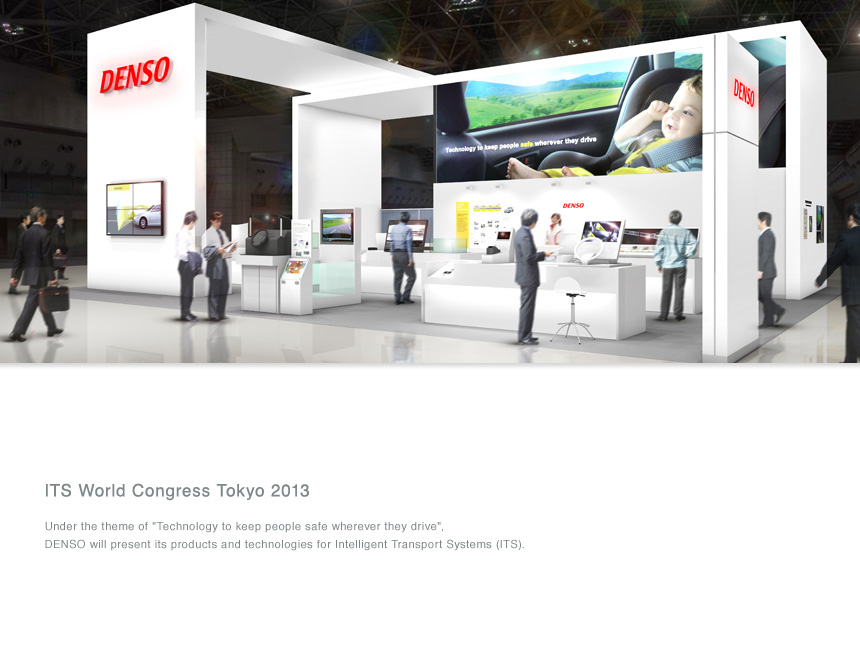 DENSO to exhibit at the 20th ITS World Congress Tokyo 2013