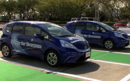 Honda unveils driverless parking system for electric cars