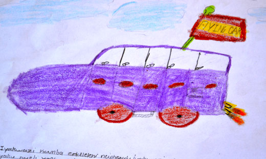 Kids design future cars