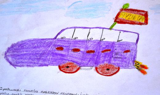 Kids design future cars