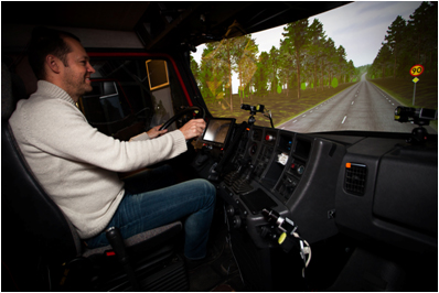 VTI presents ecoDriver's subprojects to the Swedish Energy Agency
