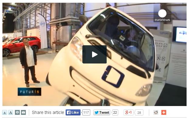 Video: Euronews on connected and automated cars