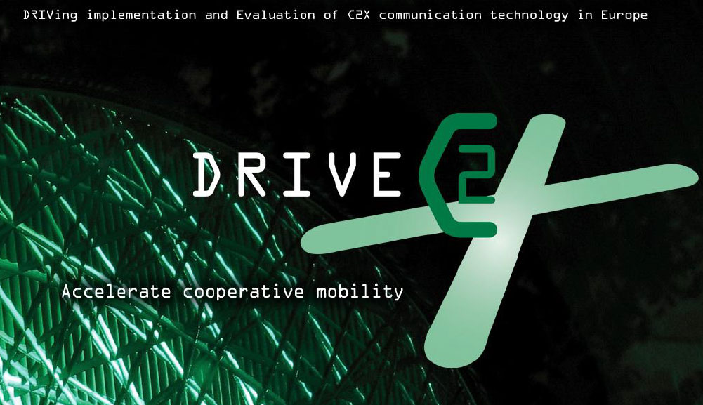 DRIVE C2X at EUCAR reception