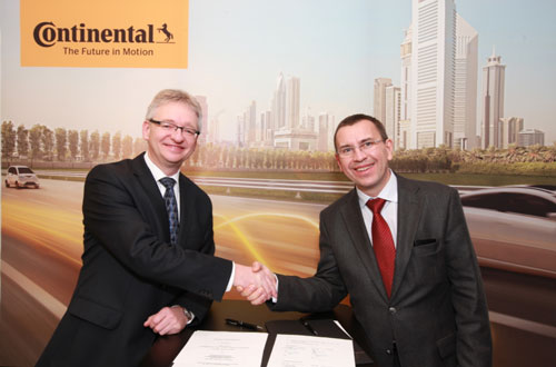 Continental and HERE team up to map out the future of vehicle connectivity