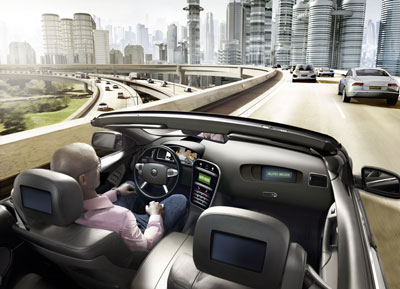 Continental puts on intuitive dialogue between driver and vehicle