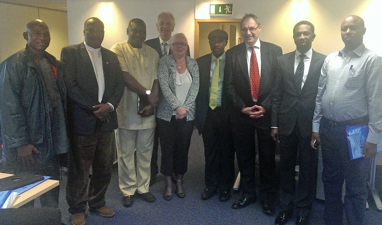 ITS United Kingdom receives public transport delegation from Nigeria