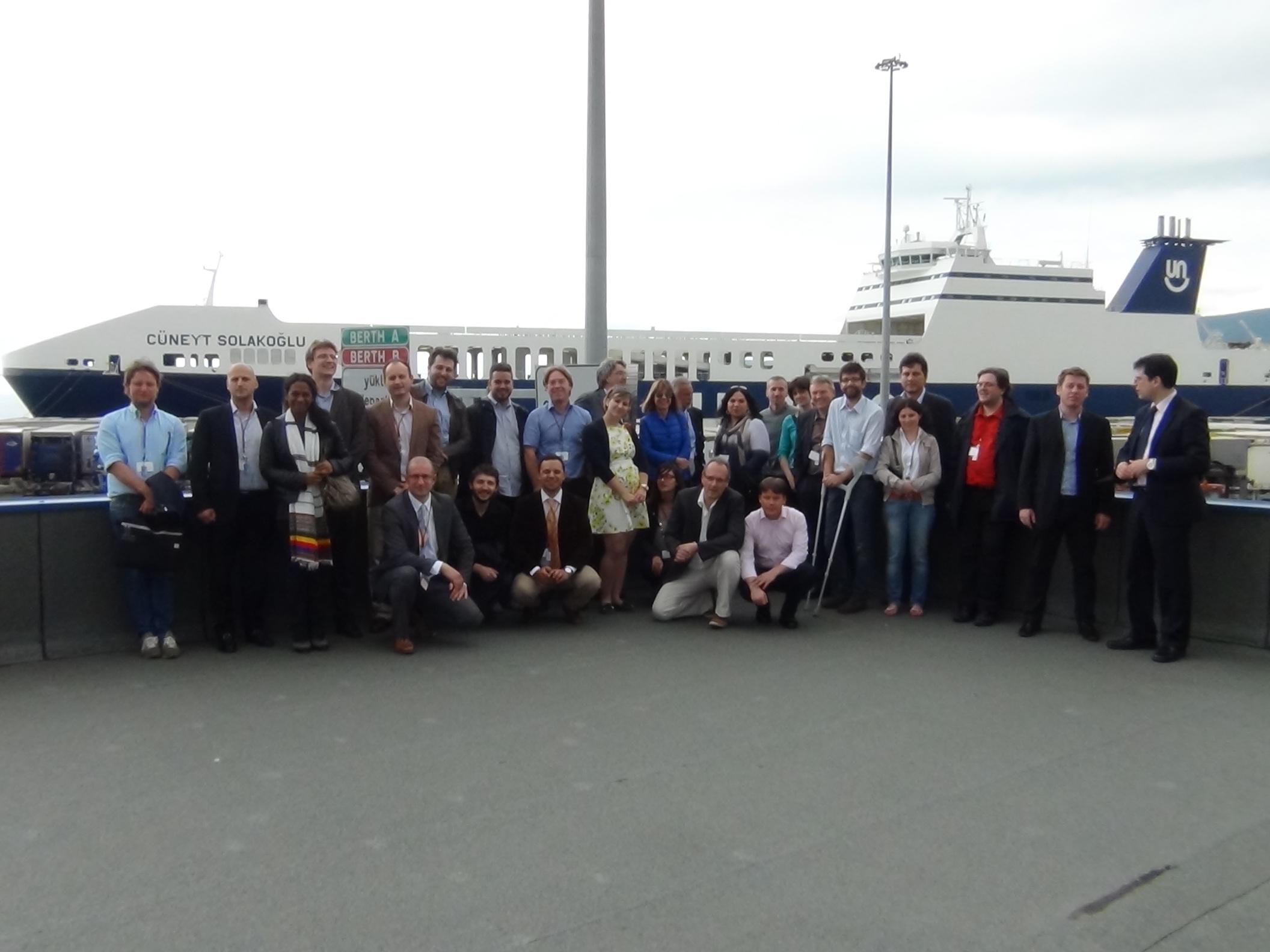 Visiting the Italian pilot site in Trieste