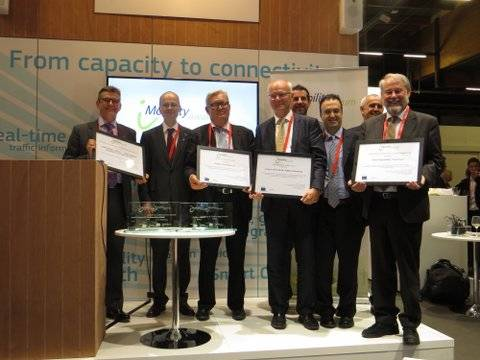 iMobility Award Winners 2014 at ITS Europe Congress