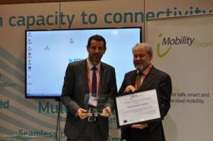 Theo Kamalski receives the iMobility Award 2014