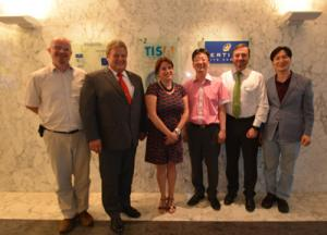 TISA welcomes delegation from TPEG Forum Korea