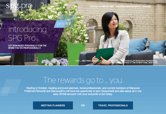 Starwood folds travel professionals into targeted rewards program with $30 million of marketing