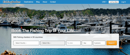 Startup pitch: Transparency and reviews hook into FishingBooker fishing charter OTA