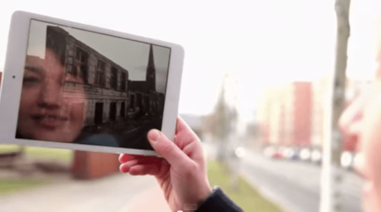 Time traveling app re-builds the Berlin Wall via augmented reality