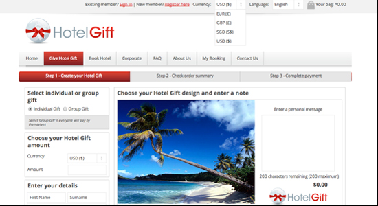 Startup pitch: Hotel Gift lets you give a vacation as a present