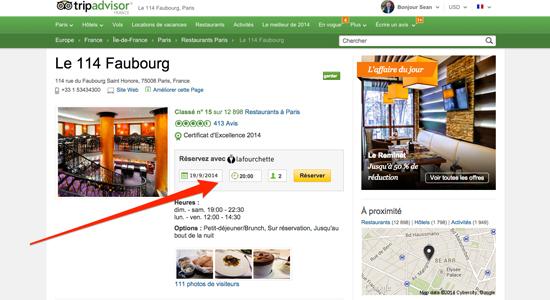 Et voila! TripAdvisor serves up Instant Reservation for restaurants