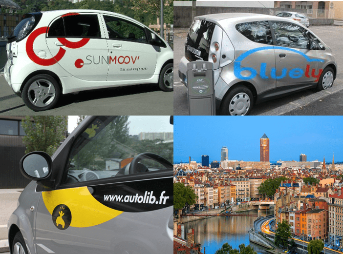 Car-sharing systems, lessons learnt from Lyon