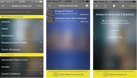 Hertz rolls out companion app to facilitate pre-rental trip planning