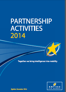 ERTICO Partnership Activity book December 2014 including the Partnership achievements