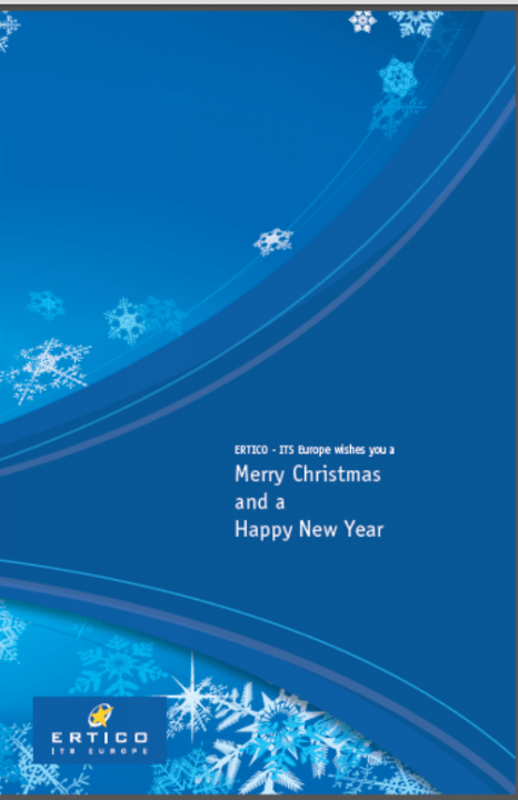 ERTICO – ITS Europe wishes you a Merry Christmas and Happy New Year