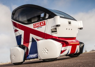 Transport Systems Catapult unveils UK's first driverless pod