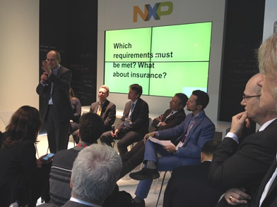 ERTICO representatives discussed the future of automation at the Mobile World Congress