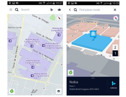 HERE offers app to 'survive' the Mobile World Congress and Barcelona