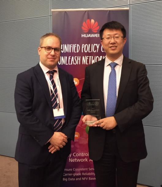 Huawei SmartPCC wins Best Traffic Management Solution Award