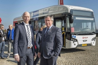 Maastricht trials electric bus