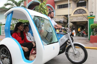 Fujitsu and Global Mobility Service to Begin Trial of Electric Tricycles in the Philippines