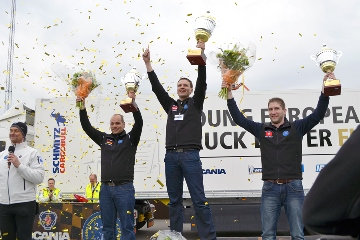 Meet the winner of the Scania Young European Truck Driver 2015