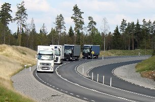 Higher security and reduced fuel consumption by pioneering technologies in freight transport