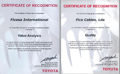 Toyota awards Ficosa manufacturing facilities in Portugal, Turkey and China