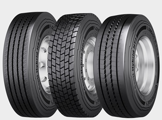 Conti Hybrid tire family for maximum service life
