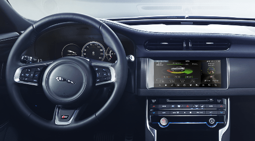 Jaguar's brand new XF, its most connected car ever, comes with HERE Auto on board