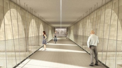 Plans for 'floating' cycle path unveiled