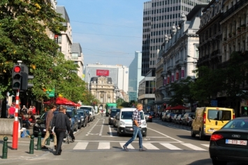 Brussels pedestrianisation 'ahead of schedule'