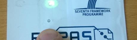 Electronic security tag for protecting valuable shipments
