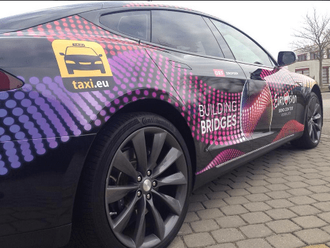 e-Taxis captured the spotlight at Eurovision