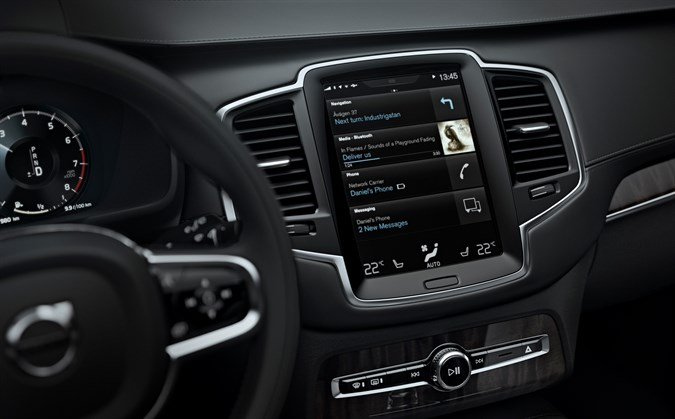 Volvo Cars' Sensus interface voted most innovative HMI system