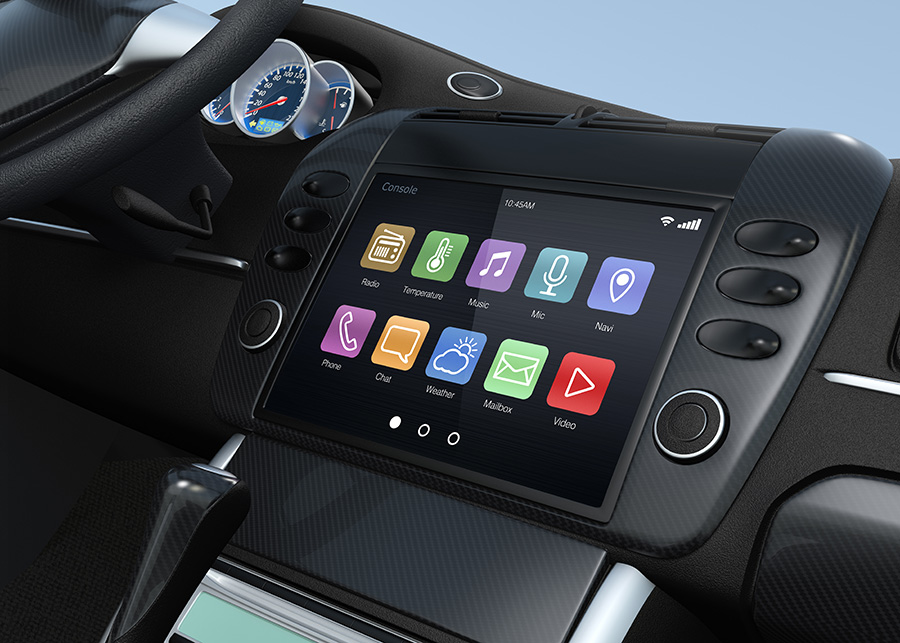 Carmakers, with the head in 'the' cloud