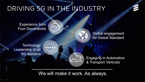 Ericsson leads European Union 5G standardization projects
