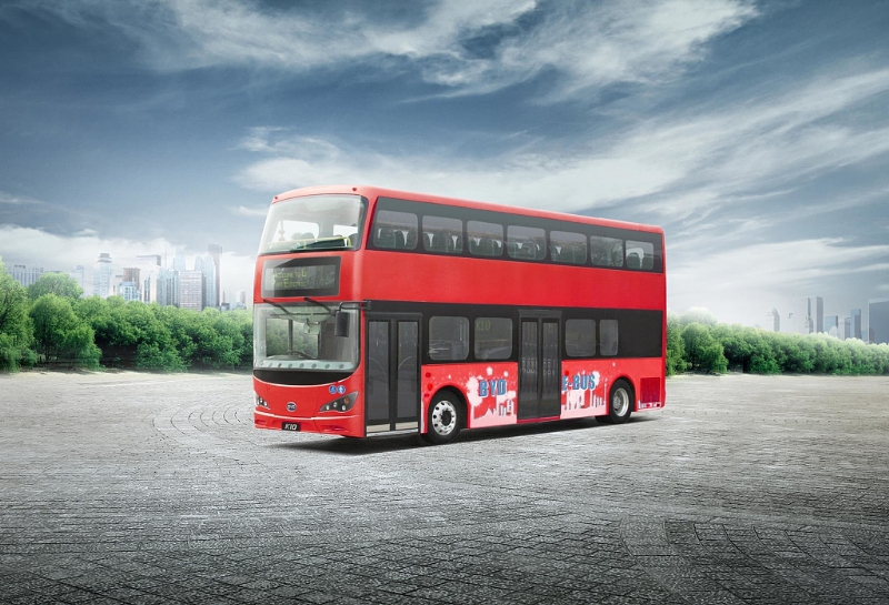 Electric double-decker bus set for London debut (UK)