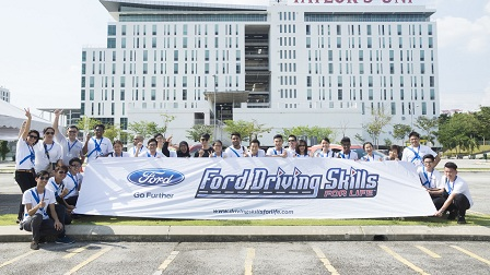 Ford Driving Skills for Life Raises Road Safety Awareness Among Young Drivers